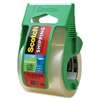 "Scotch Greener Heavy Duty Shipping Packaging Tape on a Refillable Dispenser - 1.88"" Width x 66.60 ft Length - 1.50"" Core - Synthetic Rubber Resin - Heavy Duty - Dispenser Included - 1 Roll - Clear"