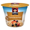 Quaker Oats Oatmeal Express Maple Brown Sugar Cup - Microwavable - Maple, Brown Sugar - 1 - 1.69 oz - 24 / Carton