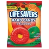 Life Savers 5 Flavors Hard Candies - Cherry, Raspberry, Watermelon, Orange, Pineapple - Individually Wrapped - 6.25 oz - 1 Bag
