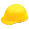 SKILCRAFT Cap Style Safety Helmet - Yellow - Nylon, Polyethylene - Yellow - 1 Each