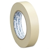 "General Purpose Masking Tape - 1.42"" Width x 60 yd Length - 3"" Core - Rubber - Crepe Paper Backing - Pressure Sensitive, Adhesive, Easy Tear, Easy Unwind - 24 Roll - Tan"