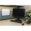 "SKILCRAFT Cubicle Magnetic Dry Erase Board - 14"" Width x 11"" Height - Steel Surface - Aluminum Frame - Film - 1 Each"