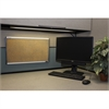"SKILCRAFT Cork Cubicle Bulletin Board - 14"" Height x 24"" Width - Tan Cork Surface - Satin Anodized Aluminum Frame"