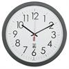 "SKILCRAFT 14.5"" Round SelfSet Wall Clock - Analog - Quartz"