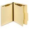 "Pendaflex Manila Classification Folders - Letter - 8 1/2"" x 11"" Sheet Size - 1 3/4"" Expansion - 2 Fastener(s) - 2"" Fastener Capacity - 2/5 Tab Cut - 1 Divider(s) - 18 pt. Folder Thickness - Manila - 1"