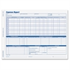 "Adams Weekly Expense Report Forms - 2 Part - Carbonless Copy - 11"" x 8.50"" Sheet Size - 50 / Pack"