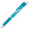 e-sharp Mechanical Pencils - HB, #2 Lead Degree (Hardness) - 0.5 mm Lead Diameter - Fine Point - Refillable - Black Lead - Sky Blue Barrel - 1 Dozen