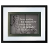 Dax Presidential Quotes Motvtnl Print Frame - Desktop, Wall Mountable - Wood, Glass - Black