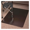 "ES Robbins Trendsetter Med-pile Bronze Chairmat - Carpet, Office - 48"" Length x 36"" Width - Rectangle - Bronze"