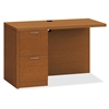 "HON Valido Series Bourbon Cherry Laminate Desking - 48"" x 24"" x 29.5"" - 2 x File Drawer(s)Left Side - Ribbon Edge - Material: Particleboard - Finish: Laminate, Bourbon Cherry"