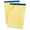 """Ampad Perforated Ruled Pads - 50 Sheets - Printed - Stapled - Letter 8.50"""" x 11"""" - 12 / Dozen"""