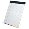 "Ampad SimpleSort Crossover Writing Pad - 80 Sheets - Printed - 15 lb Basis Weight - Letter 8.50"" x 11"" - White Paper - 1Each"
