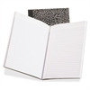 "TOPS College-Ruled Composition Notebook - 80 Sheets - Printed - Stitched 7.88"" x 10"" - White Paper - Black Cover Marble - 1Each"