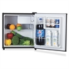 Lorell 1.6 cu.ft. Compact Refrigerator - 1.60 ft³ - Manual Defrost - Reversible - 1.60 ft³ Net Refrigerator Capacity - Black - Steel, Fiberglass, Plastic