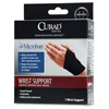 "Curad Microban Universal Wrist Support - Latex-free, Antimicrobial, Anti-bacterial - 1.5""5.1"" - Black"