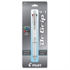 Dr. Grip Multi 4Plus1 Retractable Pen/Pencil - Fine Pen Point Type - 0.7 mm Pen Point Size - 2HB Pencil Grade - 0.5 mm Lead Size - Refillable - Black, Blue, Red, Green Ink - White Barrel - 1 Pack