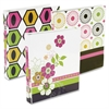 "Midori Vinyl 3-Ring Binder - 1"" Binder Capacity - Letter - 8.50"" x 11"" Sheet Size - 175 Sheet Capacity - 3 x Round Ring Fastener(s) - 2 Internal Pocket(s) - Vinyl - Assorted - 6 / Display"