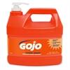 NATURAL* ORANGE Smooth Hand Cleaner - Citrus Scent - 1 gal (3.8 L) - Pump Bottle Dispenser - Soil Remover, Dirt Remover, Grease Remover - Hand - Orange - 4 / Carton