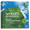 70-load Natural Laundry Detergent - Concentrate Powder - 112 oz (7 lb) - Free & Clear Scent - 4 / Carton - Clear