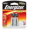 Energizer Max Alkaline AA Batteries - AA - Alkaline - 96 / Carton