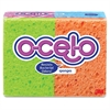 "O-Cel-O Stay Fresh Sponges - 3"" Height4.7"" Depth - 96/Carton - Cellulose - Assorted"