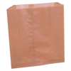 "RMC Sanitary Disposal Wax Liners - 9.25"" Width x 9.88"" Length x 3.25"" Depth - Brown Kraft - 250/Carton - Sanitary"