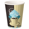 Solo Insulated Hot Cup Combo - 12 fl oz - 52 / Pack - Multi - Paper - Hot Drink
