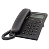 Panasonic Standard Phone - Black - Corded - 1 x Phone Line