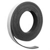 "Magnetic Tape - 0.50"" Width x 7 ft Length - Magnet - Flexible - 1 / Roll - Charcoal"