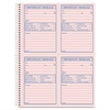 "Adams Carbonless Important Message Pad - 200 Sheet(s) - Spiral Bound - 2 Part - Carbonless Copy - 11"" x 8.50"" Sheet Size - Assorted Sheet(s) - 1 Each"
