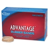 "Alliance Advantage Rubber Bands, #14 - Size: #14 - 2"" Length x 63 mil Width - 1 / Box - Natural"