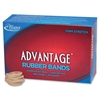 "Alliance Advantage Rubber Bands, #30 - Size: #30 - 2"" Length x 0.12"" Width - 1 / Box - Natural"