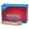 "Alliance Advantage Rubber Bands, #117B - Size: #117B - 7"" Length x 0.13"" Width - 1 / Box - Natural"