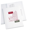 "Avery Classic Presentation Book - Letter - 8 1/2"" x 11 1/2"" Sheet Size - 12 Sheet Capacity - Internal Pocket(s) - Polypropylene - White - 1 Each"