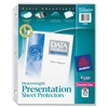 "Avery Diamond Clear Top Loading Sheet Protector - For Letter 8.50"" x 11"" Sheet - Clear - Polypropylene - 25 / Pack"