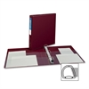 "Avery Heavy-Duty Reference Binder - 1"" Binder Capacity - Letter - 8 1/2"" x 11"" Sheet Size - 275 Sheet Capacity - 3 x D-Ring Fastener(s) - 4 Internal Pocket(s) - Chipboard, Polypropylene - Maroon - Rec"