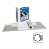 "Avery EZD Heavy-Duty Reference View Binder - 4"" Binder Capacity - Letter - 8 1/2"" x 11"" Sheet Size - 780 Sheet Capacity - 3 x D-Ring Fastener(s) - 4 Internal Pocket(s) - Chipboard, Polypropylene - Whi"