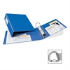 "Avery Heavy-Duty Reference Binder With Label Holder - 3"" Binder Capacity - Letter - 8 1/2"" x 11"" Sheet Size - 670 Sheet Capacity - 3 x D-Ring Fastener(s) - 4 Internal Pocket(s) - Chipboard, Polypropyl"