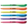 BIC Brite Liner Highlighters - Chisel Point Style - Assorted Water Based Ink