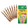 Crayola Write Start Colored Pencil - 5.3 mm Lead Diameter - Assorted Lead - 8 / Set