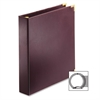 "Business Collection Presentation Binder - 1"" Binder Capacity - Letter - 8 1/2"" x 11"" Sheet Size - 225 Sheet Capacity - 3 x Round Ring Fastener(s) - 2 Inside Front & Back Pocket(s) - Vinyl - B"