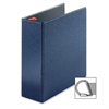 "Cardinal Prestige Locking Slant-D Ring Binder - 4"" Binder Capacity - Letter - 8 1/2"" x 11"" Sheet Size - 890 Sheet Capacity - 3 x D-Ring Fastener(s) - 2 Inside Front & Back Pocket(s) - Vinyl - Dark Blu"