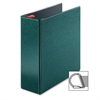 "Cardinal Prestige Locking D-Ring Binders - 4"" Binder Capacity - Letter - 8 1/2"" x 11"" Sheet Size - 890 Sheet Capacity - 3 x D-Ring Fastener(s) - 2 Inside Front & Back Pocket(s) - Vinyl - Evergreen - 1"