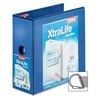 "Cardinal Xtralife ClearVue Locking Slant-D Binders - 5"" Binder Capacity - Letter - 8 1/2"" x 11"" Sheet Size - 1100 Sheet Capacity - 4 3/8"" Spine Width - 3 x D-Ring Fastener(s) - 2 Inside Front & Back P"
