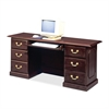 "DMi Governor's Computer Credenza - 66"" x 20"" x 30"" - 5 - Material: Wood - Finish: Laminate, Mahogany"