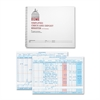 "Dome Publishing Check And Deposit Register - 50 Sheet(s) - Wire Bound - 8.50"" x 10.25"" Sheet Size - Gray Cover - Recycled - 1 Each"