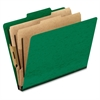 "Classification Folder - Letter - 8 1/2"" x 11"" Sheet Size - 2"" Expansion - 4 Fastener(s) - 2"" Fastener Capacity for Folder, 1"" Fastener Capacity for Divider - 2/5 Tab Cut - 2 Divider(s) - 20"