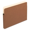 "Pendaflex Redrope File Pockets - Legal - 8 1/2"" x 14"" Sheet Size - 1 3/4"" Expansion - Manila, Red Fiber - Recycled"