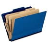 "Pendaflex Pressguard Classification Folders - Legal - 8 1/2"" x 14"" Sheet Size - 2"" Expansion - 4 Fastener(s) - 2"" Fastener Capacity for Folder, 1"" Fastener Capacity for Divider - 2/5 Tab Cut - 2 Divid"