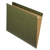 "Hanging Folder without Tabs - Letter - 8 1/2"" x 11"" Sheet Size - Internal Pocket(s) - Green - 25 / Box"
